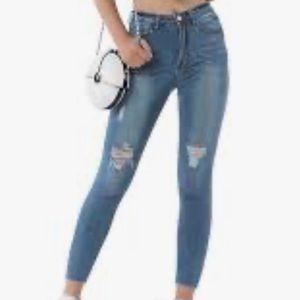 Ladies Levi's 503 Skinny Jeans 0048